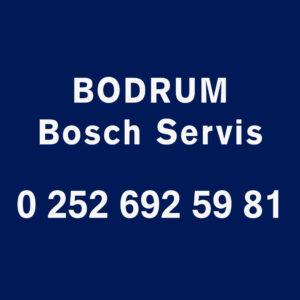 Bodrum Bosch Servisi Telefon Numarası İletişim