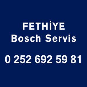 Fethiye Bosch Servisi Telefon Numarası İletişim