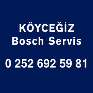 Köyceğiz Bosch Servisi Telefon Numarası İletişim