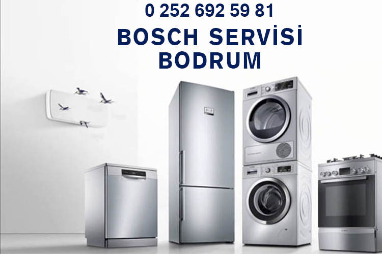 Bodrum Bosch Beyaz Eşya Servisi